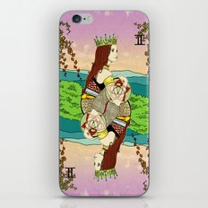 The Queen (Twins) iPhone & iPod Skin