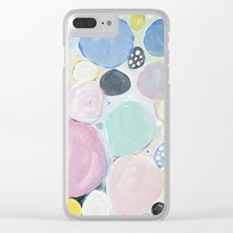 Mixed Lollies Abstract Clear iPhone Case