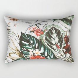 Jungle watercolor Rectangular Pillow