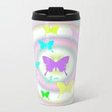 butterfly station Metal Travel Mug