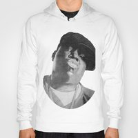 notorious Hoodies featuring Notorious B.I.G by tyler Guill