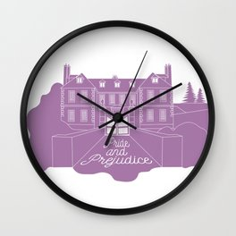 Jane Austen - Pride and Prejudice, Longbourn Wall Clock