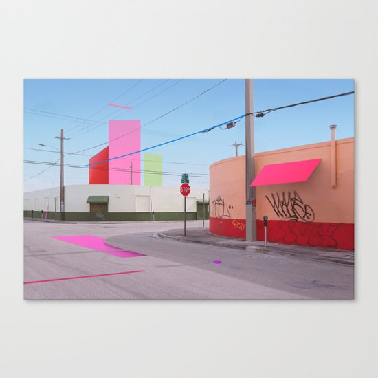 Constructed S2 Canvas Print