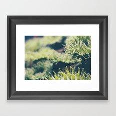 Get Wiggly Framed Art Print