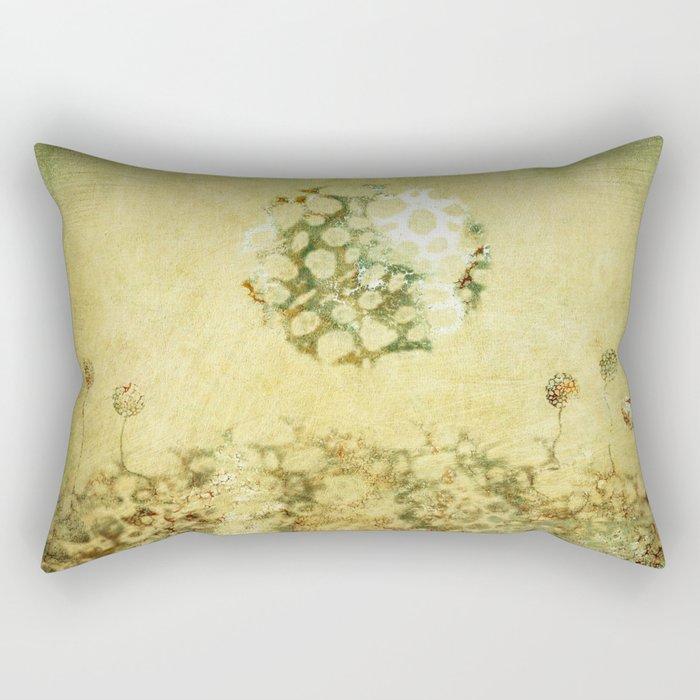 Moonflowers Rectangular Pillow