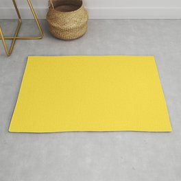 Butter Yellow - Solid Color Collection Rug