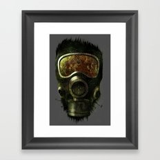 Spores Framed Art Print