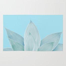 Light Blue Agave #1 #tropical #decor #art #society6 Rug