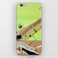 Natural drug iPhone & iPod Skin