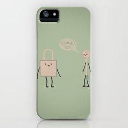 Master Key iPhone Case