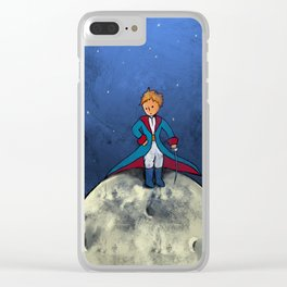 Little Prince Clear iPhone Case