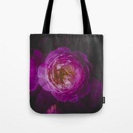 Roses (double exposure) Tote Bag