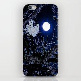 Mystical Moon and Viburnum iPhone Skin