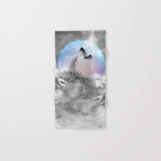 Maybe the Wolf Is In Love with the Moon / Unrequited Love Hand & Bath Towel