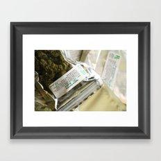 Rx Framed Art Print
