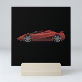 Exotic Modern Super Car Concept Mini Art Print