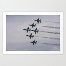 Air Force Thunderbirds  Art Print