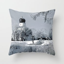 Theodore Sovereign's Cathedral, Saint-Petersburg, Russia Throw Pillow
