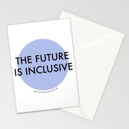 The Future Is Inclusive - Blue Stationery Cards