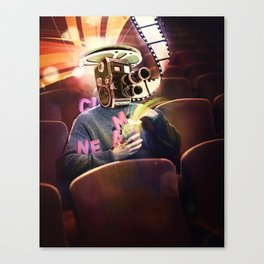 Cinema Poster Canvas Print