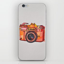 retro camera phone case iPhone Skin