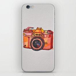 retro camera phone case iPhone Skin