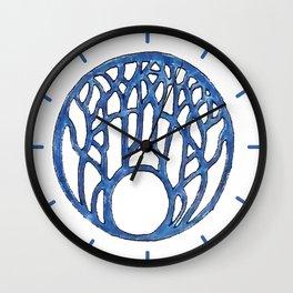 Blue Design 18 Wall Clock