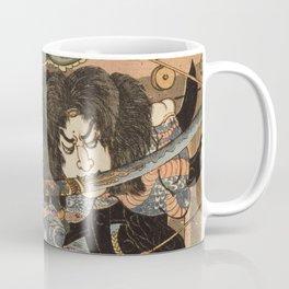 Utagawa Kuniyoshi  - One Hundred And Eight Heroes Coffee Mug