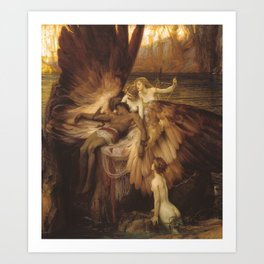 The Lament for Icarus by Herbert James Draper, 1898 Art Print