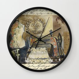 dressmakers dream Wall Clock