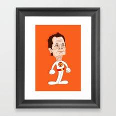 Carlos Danger Framed Art Print