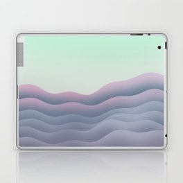 iso mountain sunset Laptop & iPad Skin