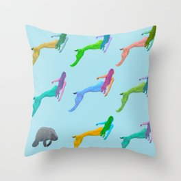 Be Your Kind of Mermaid Throw Pillow