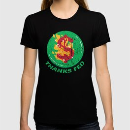 Burning US Dollar Thanks Fed Money Inflation T-shirt