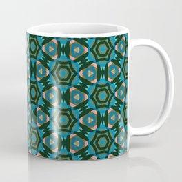 Multi Colored Medallion Coffee Mug