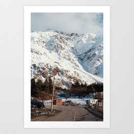 Kazbegi Mountains Art Print
