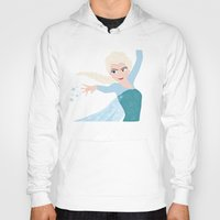elsa Hoodies featuring ELSA by Lauren Lee Design's