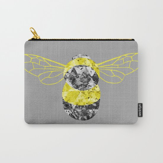 Patchwork Busy Bee Carry-All Pouch