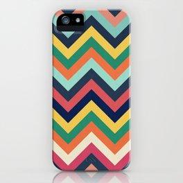 Chevron 24 iPhone Case
