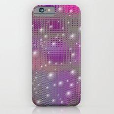 Disco made of purple bubbles iPhone 6s Slim Case