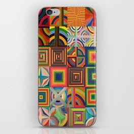 Frank Stella Montage iPhone Skin