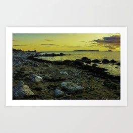 Sambro Sunset Art Print