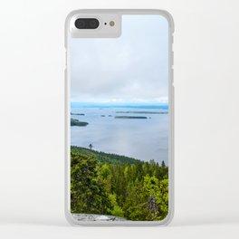 Cloudy Evening | Koli National Park Clear iPhone Case