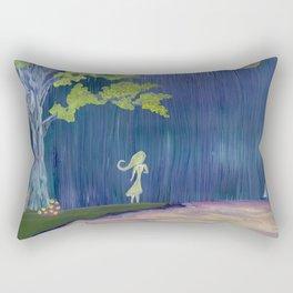 Apparition Rectangular Pillow