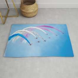 The Red Arrows Rug