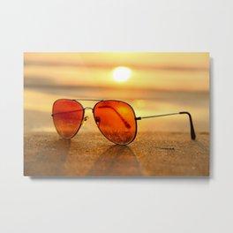 Sunglasses 01 Metal Print