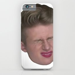 Influencer Symfuhny Disgusted Face Snooze Grumpy Epic Mate iPhone Case