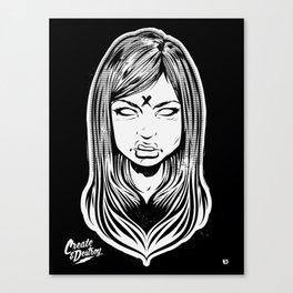 Electric Flower Canvas Print