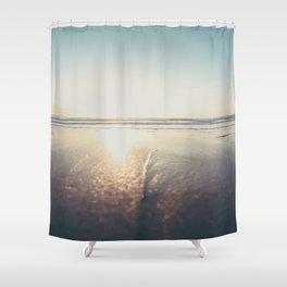 The Ocean Is Calling San Diego California Shower Curtain
