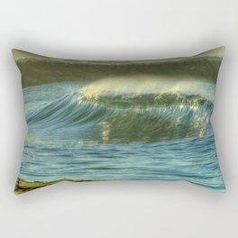 Dreamy Wedge Wave Rectangular Pillow